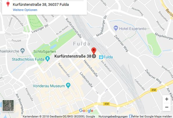 Fahrschule Mihm Fulda Anfahrt Karte